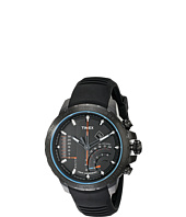 Timex - Intelligent Quartz Adventure Series Linear Indicator Chronograph Silicone Strap Watch