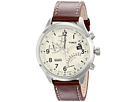 Timex - Intelligent Quartz Fly Back Chronograph Leather Strap Watch