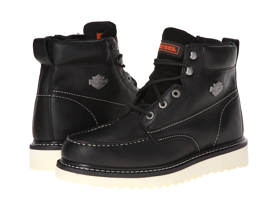 Harley-Davidson - Beau (Black) Mens Lace-up Boots