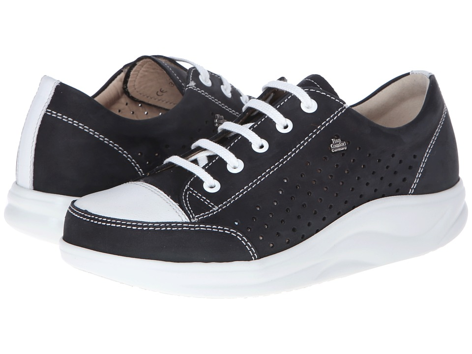 Finn Comfort - Ceylon (Black/Jasmin) Womens Shoes