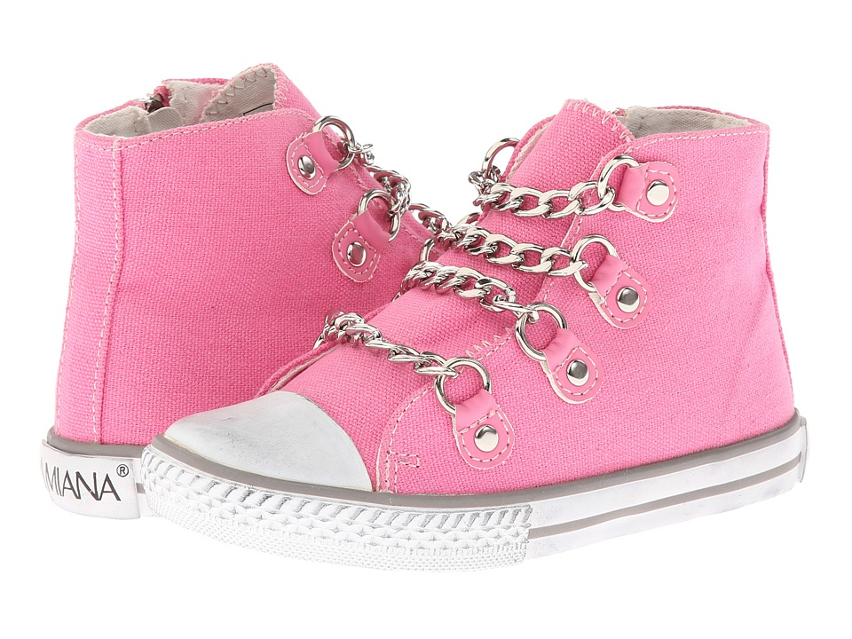 Amiana 15 5262 Little Kid/Big Kid/Adult Rose Canvas Girls Shoes