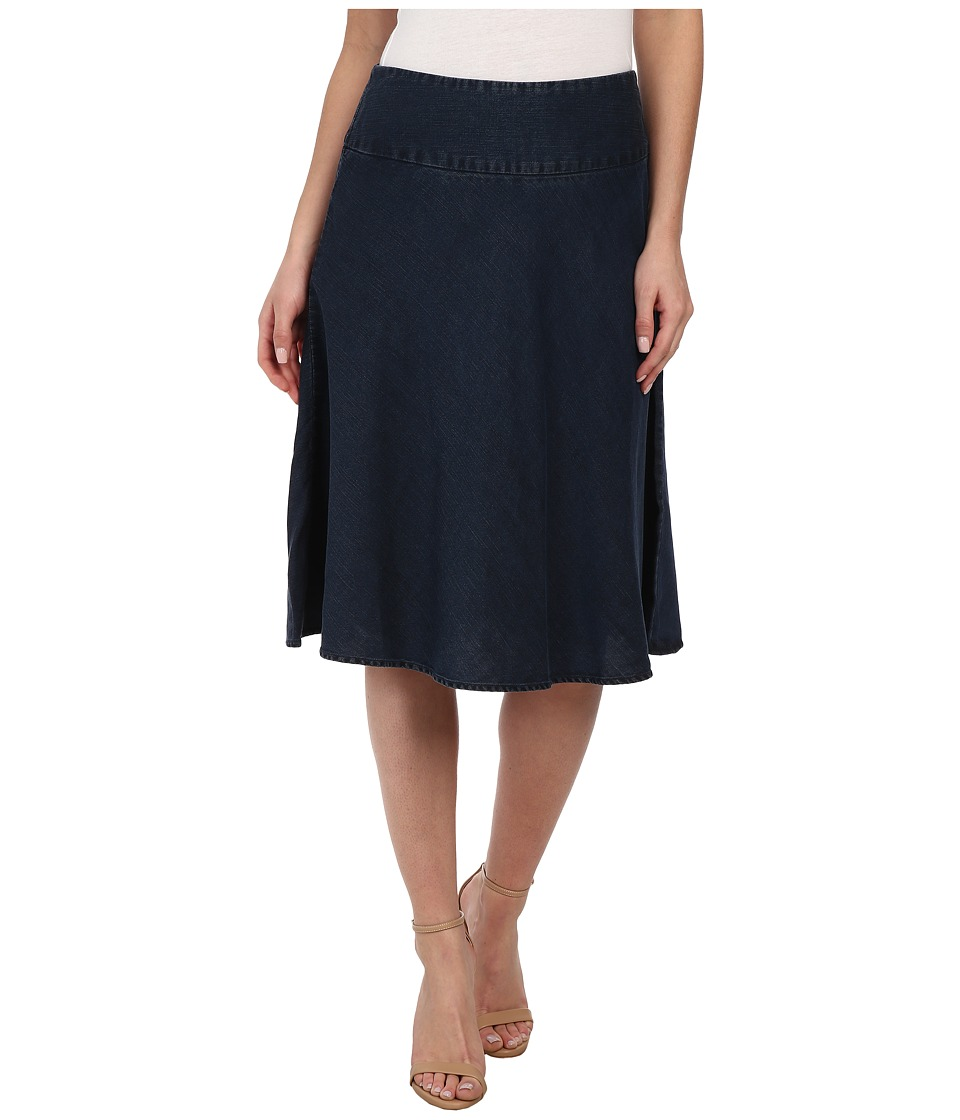 NIC+ZOE - Summer Fling Skirt (Indigo) Womens Skirt