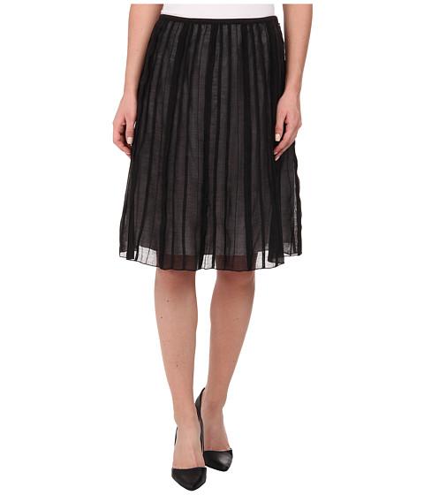 NIC+ZOE Batiste Flirt Skirt - Black Onyx