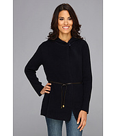 Jones New York - Rib Sleeve Cardigan Coat w/ Button