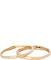 The Sak - Two Piece Metal Bangle Set