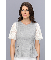 Rebecca Taylor - S/S Lace & Tweed Top