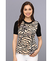 Rebecca Taylor - S/S Jersey Combo Top