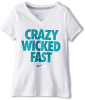 Nike Kids - Crazy Wicked Fast V-Neck Tee (Little Kids/Big Kids)