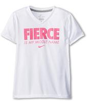 Nike Kids - Fierce Is My Middle Name Tee (Little Kids/Big Kids)