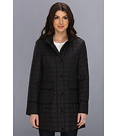 DKNY - Quilted Jacket w/ Removable Hood