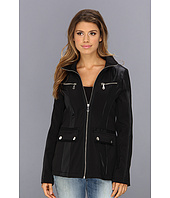 DKNY - Short Zip Front Soft Shell