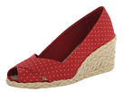 LAUREN by Ralph Lauren - Cecilia (Rl Bright Red Polka Dot) - Footwear