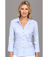 NIC+ZOE - Side Ruched Shirt