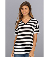 NYDJ - Rugby Stripe V-Neck