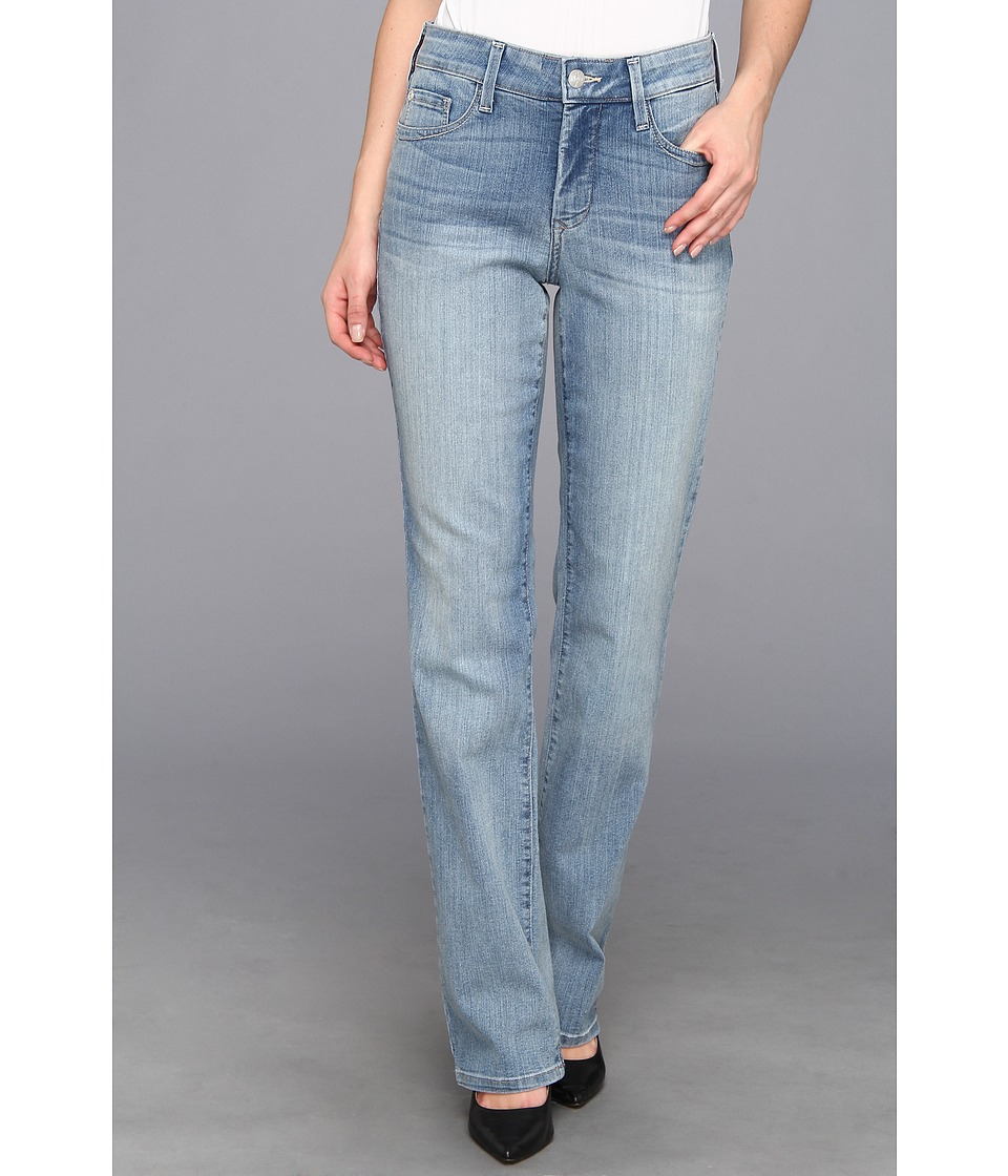 NYDJ - Marilyn Straight in Manhattan Beach (Manhattan Beach) Womens Jeans