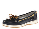 Sperry Top-Sider - Angelfish (Navy Leather/Gold Open Mesh) - Footwear