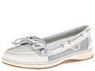 Sperry Top-Sider - Angelfish (White Leather/Silver Open Mesh)