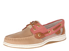 Sperry Top-Sider - Bluefish 2-Eye (Linen Leather/Washed Red Open) - Footwear