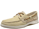 Sperry Top-Sider - Bluefish 2-Eye (Light Tan Leather/Open Mesh) - Footwear