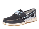Sperry Top-Sider - Bluefish 2-Eye (Navy Leather/Open Mesh) - Footwear