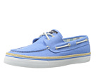 Sperry Top-Sider - Bahama 2-Eye (Blue Linen) - Footwear