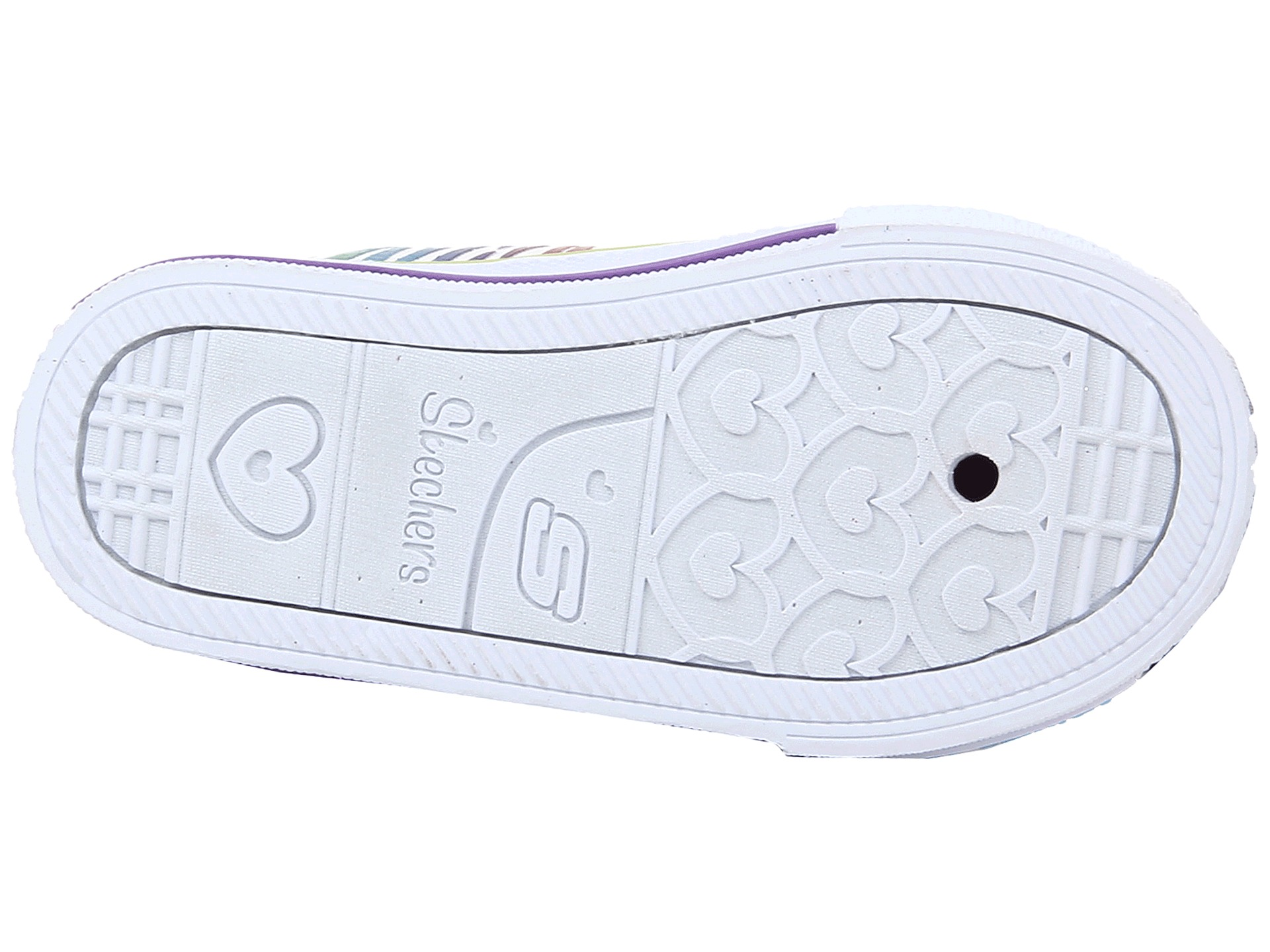 SKECHERS KIDS Shuffles - Polka Dot 10360L Lighted (Toddler