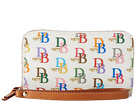 Dooney & Bourke DB Zip Around Credit Card Phone Wristlet