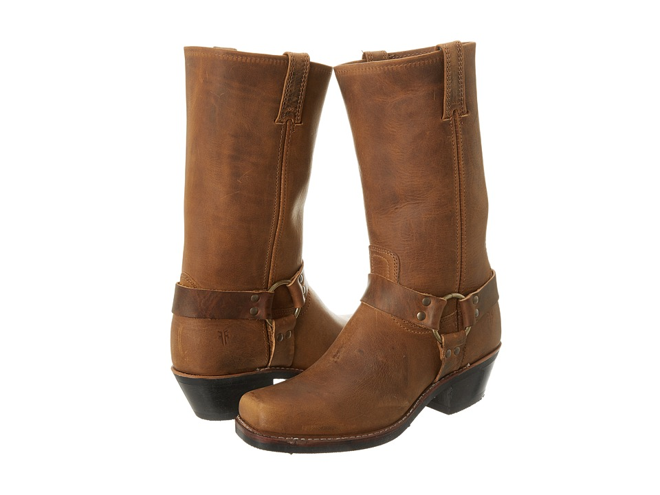 Frye Harness 12R (Dark Brown Crazy Horse) Women's Pull-on Boots