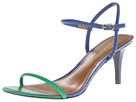 LAUREN Ralph Lauren - Taja (Regatta Blue/Summer Green Nappa)