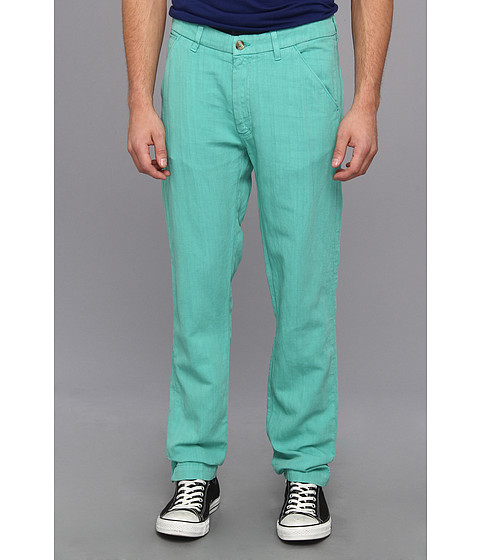 Levi 39 s made crafted spoke slim chino in lagoon lagoon for Levis made and crafted spoke chino
