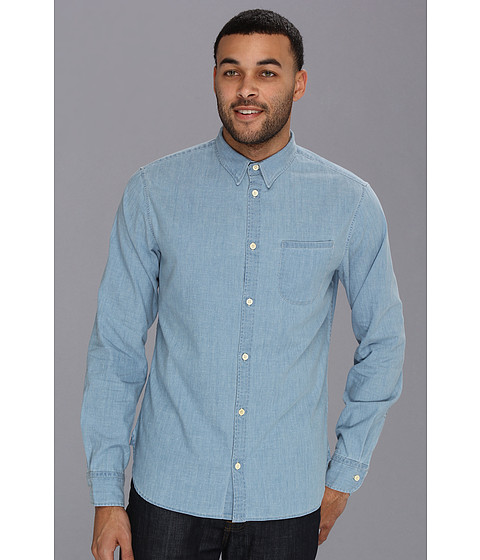 Levi 39 s made crafted one pocket shirt for Levis made and crafted shirt