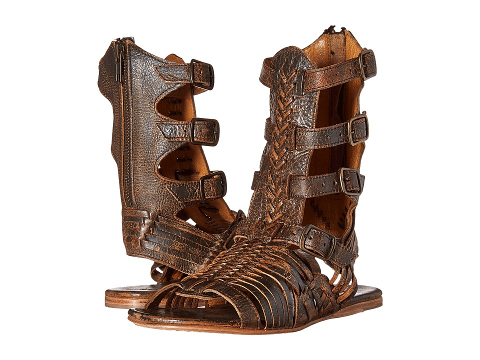 Bed Stu Aurelia Teak Lux Womens Shoes