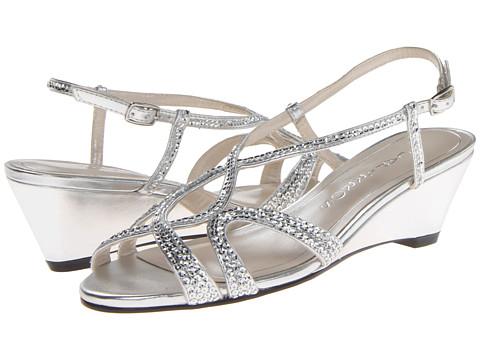 Caparros Lisette (Silver Metallic) Women's Wedge Shoes