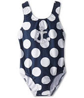 le top - Happy Sails Big Dot Tanksuit with Keyhold Back - Anchor (Toddler/Little Kids)