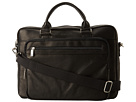 Kenneth Cole Reaction Columbian Leather 3.5 Single Gusset Top Zip Computer Case
