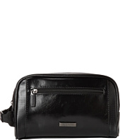 Kenneth Cole Reaction - PVC With Perforated Trim Single Gusset Top Zip Travel Kit