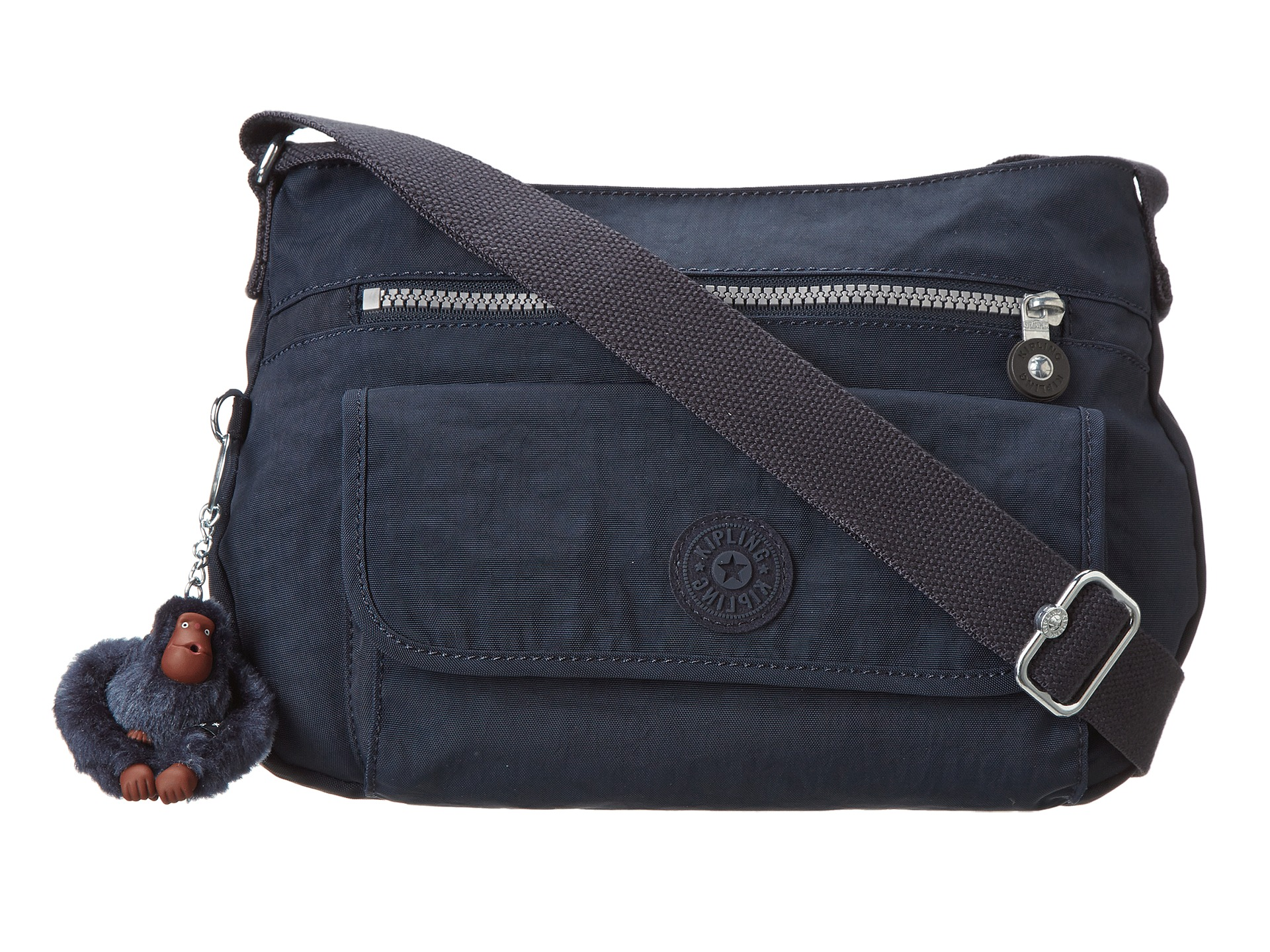 Kipling Syro Crossbody Bag True Blue - Zappos.com Free ...