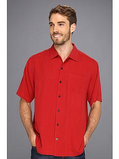 Tommy bahama catalina twill camp shirt lehua red for Tommy bahama catalina twill silk camp shirt