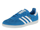 adidas Originals - Samba (Solar Blue/White/Clear Grey) -
