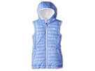 The North Face Kids - Reversible Mossbud Swirl Vest (Little Kids/Big Kids) (Dynasty Blue/TNF White) - Apparel