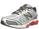 New Balance M780v4 Silver, Red Shoes