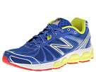New Balance M780v4 Blue, Lime Shoes