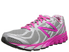 New Balance W3190v1 Metallic Silver, Pink Glo, White Shoes