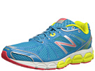 New Balance W780v4 Blue, Lime Shoes