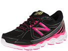 New Balance W750v3 Black, Pink Shoes