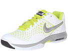 Nike - Air Cage Advantage (White/Venom Green/Metallic Silver)