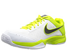 Nike - Air Cage Court (White/Venom Green/Light Base Grey/Black)