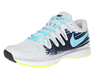 Nike - Zoom Vapor 9.5 Tour (Light Base Grey/Midnight Navy/White/Polarized Blue)