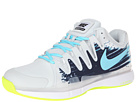 Nike - Zoom Vapor 9.5 Tour Clay (Light Base Grey/Midnight Navy/White/Polarized Blue)