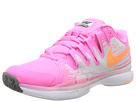 Nike - Zoom Vapor 9.5 Tour (Pink Glow/Light Base Grey/White/Atomic Orange)